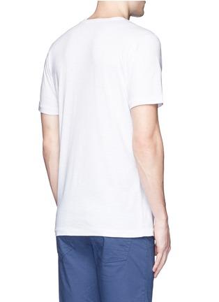 背面 - 点击放大 - DENHAM - 数字造型纯棉T恤