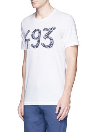 正面 -点击放大 - DENHAM - 数字造型纯棉T恤