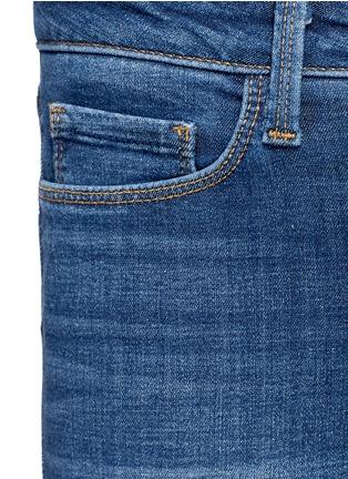 细节 - 点击放大 - L'AGENCE - THE BRIGITTE中腰修身牛仔裤