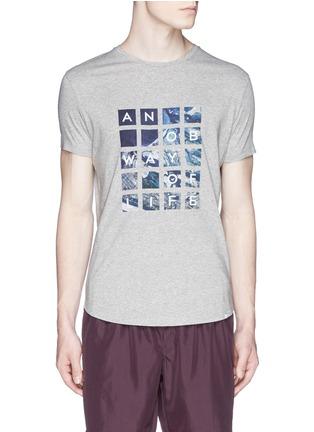 首图 - 点击放大 - ORLEBAR BROWN - 'OB T' Abu Dhabi Aerial print T-shirt