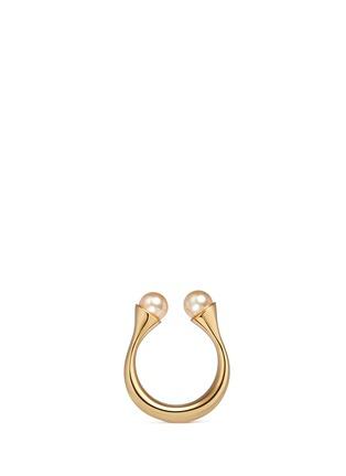 首图 - 点击放大 - CHLOÉ - DARCEY人造珍珠半开口戒指
