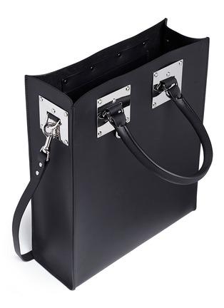 细节 - 点击放大 - SOPHIE HULME - Albion真皮箱型托特包