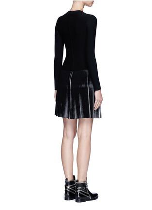 背面 - 点击放大 - ALAÏA - SEGUIDILLE拼色百褶弹性连衣裙