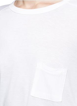 细节 - 点击放大 - T BY ALEXANDER WANG - 长袖T恤