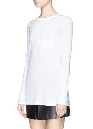 正面 -点击放大 - T BY ALEXANDER WANG - 长袖T恤