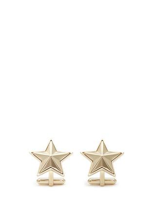 首图 - 点击放大 - GIVENCHY - 立体五角星袖扣
