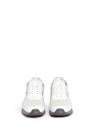 正面 - 点击放大 - MICHAEL KORS - ALLIE拼接镂纹压纹运动鞋