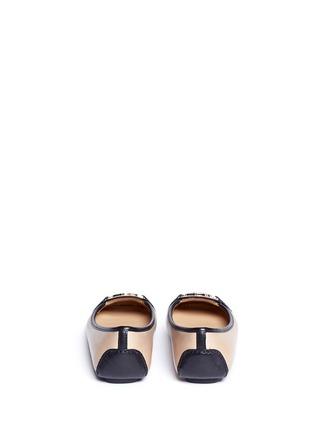 背面 - 点击放大 - MICHAEL KORS - Fulton金属扣装饰真皮平底鞋