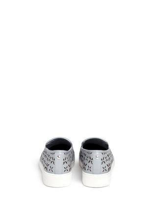 背面 - 点击放大 - MICHAEL KORS - KEATON镂空花卉真皮平底便鞋