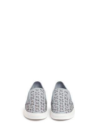 正面 -点击放大 - MICHAEL KORS - KEATON镂空花卉真皮平底便鞋
