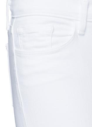细节 - 点击放大 - J Brand - CAPRI修身九分牛仔裤
