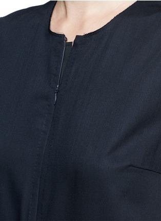 细节 - 点击放大 - MS MIN - 直筒无袖羊毛连体裤