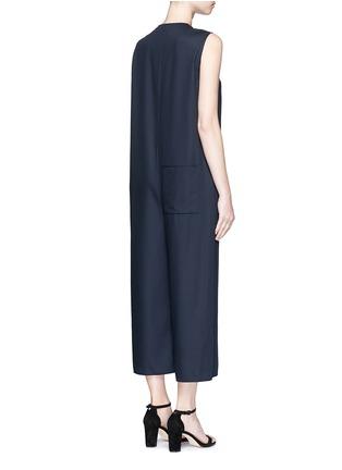 背面 - 点击放大 - MS MIN - 直筒无袖羊毛连体裤
