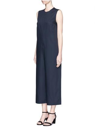 正面 - 点击放大 - MS MIN - 直筒无袖羊毛连体裤