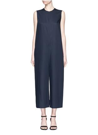 首图 - 点击放大 - MS MIN - 直筒无袖羊毛连体裤