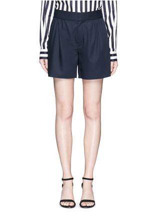 首图 - 点击放大 - MS MIN - 褶裥羊毛短裤