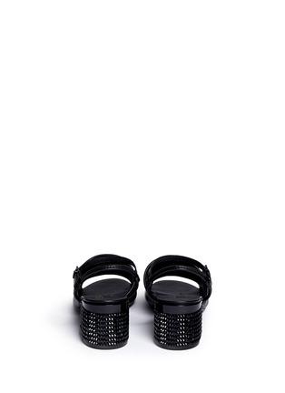 背面 - 点击放大 - CLERGERIE - 仿水晶装饰跟凉鞋