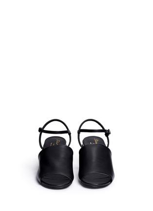 正面 - 点击放大 - CLERGERIE - 仿水晶装饰跟凉鞋