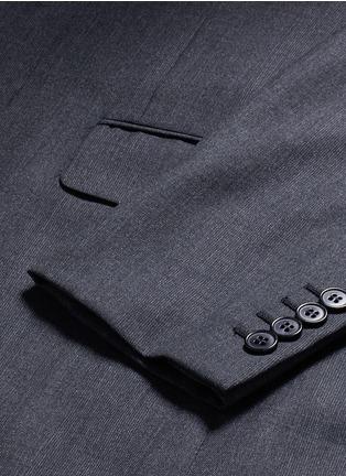- SAINT LAURENT - 细格纹羊毛西服套装