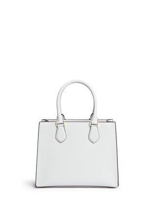 背面 - 点击放大 - MICHAEL KORS - Bridgette中号十字纹真皮手提包