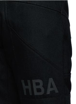 - HOOD BY AIR - 拼贴装饰纯棉牛仔裤