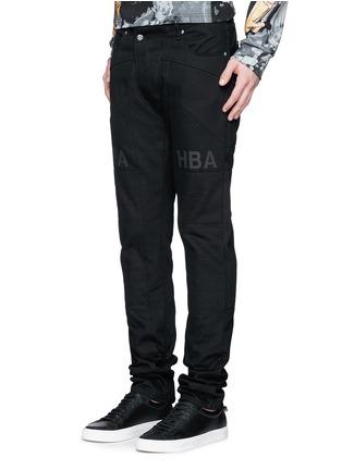 正面 -点击放大 - HOOD BY AIR - 拼贴装饰纯棉牛仔裤