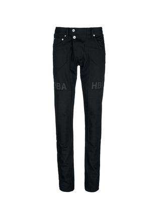 首图 - 点击放大 - HOOD BY AIR - 拼贴装饰纯棉牛仔裤