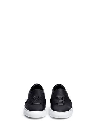 正面 -点击放大 - JOSHUA SANDERS - 凹凸数字装饰平底便鞋