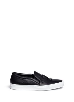 首图 - 点击放大 - JOSHUA SANDERS - 凹凸数字装饰平底便鞋