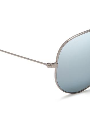 细节 - 点击放大 - RAY-BAN - Aviator Large Metal' mirror sunglasses