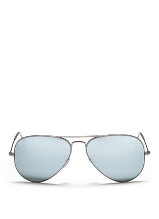 首图 - 点击放大 - RAY-BAN - Aviator Large Metal' mirror sunglasses