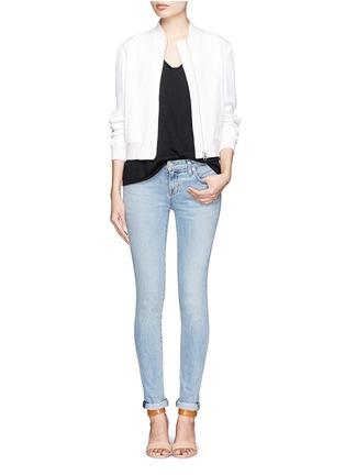 模特儿示范图 - 点击放大 - RAG & BONE/JEAN - 纯棉口袋T恤