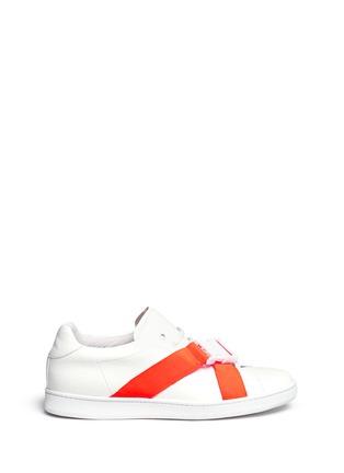 首图 - 点击放大 - JOSHUA SANDERS - 交叉罗纹带装饰运动鞋