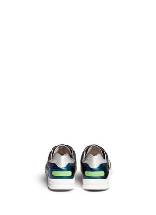 背面 - 点击放大 - DOLCE & GABBANA - 拼接多彩运动鞋