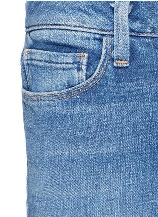 细节 - 点击放大 - L'AGENCE - SOPHIE水洗高腰喇叭牛仔裤