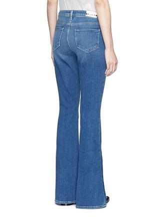 背面 - 点击放大 - L'AGENCE - SOPHIE水洗高腰喇叭牛仔裤