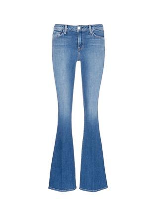 首图 - 点击放大 - L'AGENCE - SOPHIE水洗高腰喇叭牛仔裤