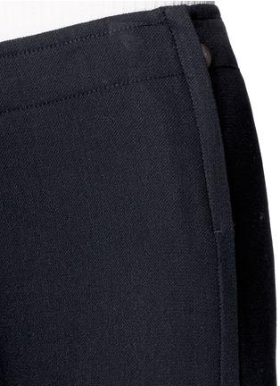 细节 - 点击放大 - HELMUT LANG - 单色绉绸阔腿裤