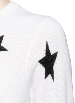 细节 - 点击放大 - EQUIPMENT - REI星形图案羊绒针织衫