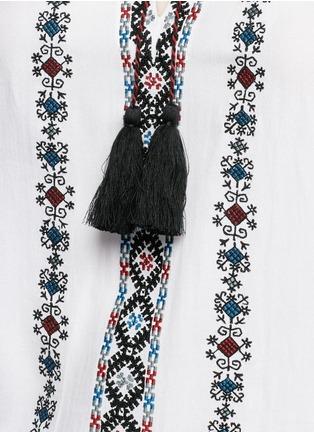 细节 - 点击放大 - TALITHA - 民族风格刺绣混棉上衣