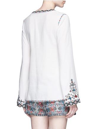 背面 - 点击放大 - TALITHA - 民族风格刺绣混棉上衣