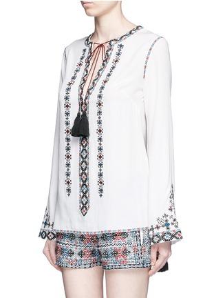 正面 -点击放大 - TALITHA - 民族风格刺绣混棉上衣