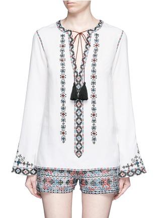 首图 - 点击放大 - TALITHA - 民族风格刺绣混棉上衣