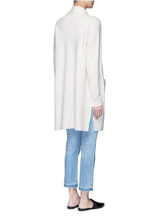 背面 - 点击放大 - VINCE - 无系扣羊毛混羊绒针织外套