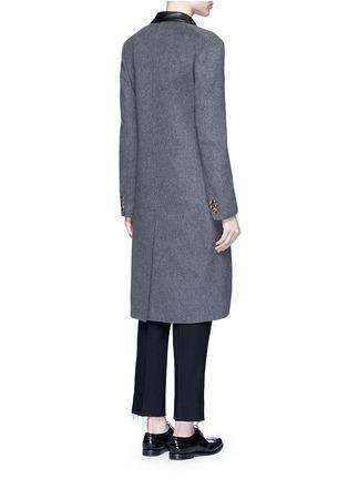 背面 - 点击放大 - AGNONA - 羊绒长大衣
