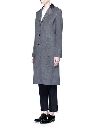 正面 - 点击放大 - AGNONA - 羊绒长大衣
